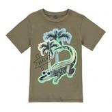 Stella McCartney Sale - Arrow Palm Tree Crocodile T-Shirt