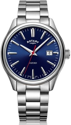 Rotary Watches Rotary Mens Bracelet Stainless Steel Oxford