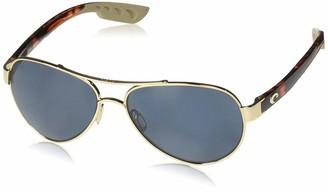 Costa del Mar Loreto Polarized Aviator Sunglasses