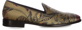 Etro Silk-brocade loafer