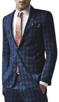 Uber Stone Wool/Pol/Lycra Pow Check Jacket
