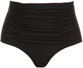 Torrid Black High-Waist Bikini Swim Bottoms