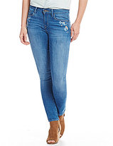 Levi's s Embroidered Mid Rise Skinny Jeans