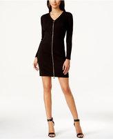 Calvin Klein Zip-Front Sheath Dress