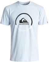 Quiksilver Men's Active Logo Blocked T-Shirt