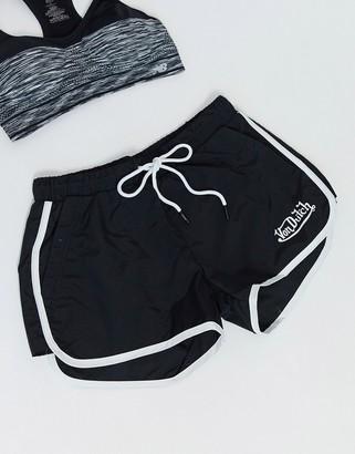 Von Dutch logo running shorts