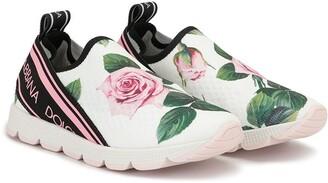 Dolce & Gabbana Kids Sorrento slip-on sneakers