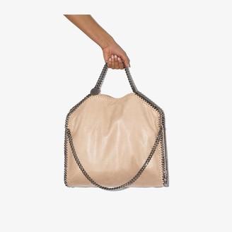 Stella McCartney beige Falabella faux leather tote bag