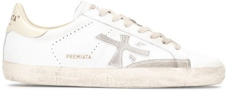 Premiata Steven low-top leather sneakers