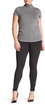 One 5 One Front Button Ponte Legging Pant