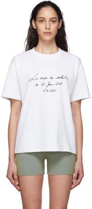 Jacquemus White Le T-Shirt Coup de Soleil T-Shirt