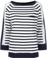 Alberta Ferretti striped jumper - women - Cotton/Polyamide/Rayon/other fibers - 42