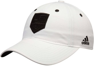 adidas Women's White Los Angeles Kings Tonal Slouch Adjustable Hat