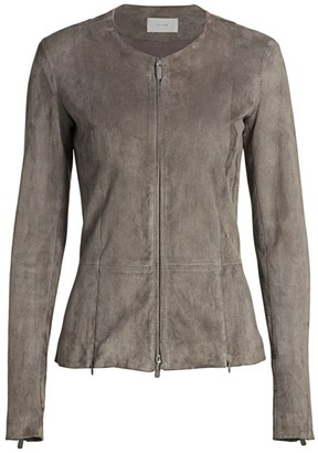 The Row Vanasta Suede Jacket