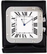 Cartier Santos Travel Clock
