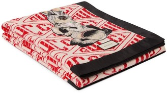Gucci Game throw blanket