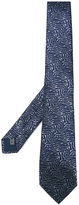 Lanvin squiggle pattern tie