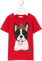 Dolce & Gabbana pug print T-shirt