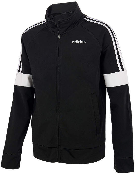 adidas Boys Midweight Track Jacket Big Kid | Products
