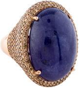 Ring Tanzanite & Diamond Cocktail