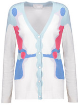 Peter Pilotto Intarsia-Knit Cotton, Cashmere And Silk-Blend Cardigan