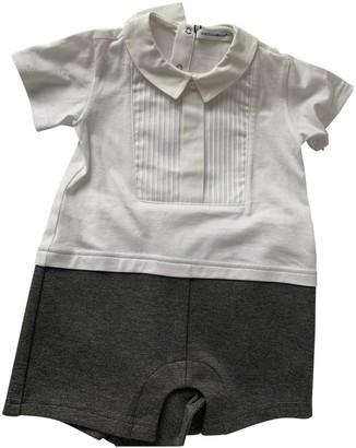Dolce & Gabbana White Cotton Outfits