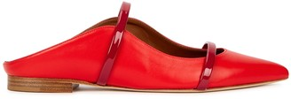 Malone Souliers Maureen 10 red leather mules