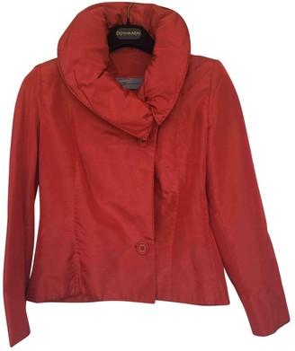 Genny Red Silk Jacket for Women