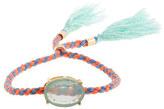 J.Crew Girls' tassel friendship bracelet with milky stone