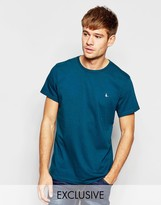 Jack Wills T-Shirt With Pheasant Logo In Forest Green Exclusive