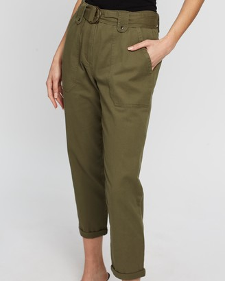 Dorothy Perkins D-Ring Utility Trousers