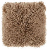 Adrienne Landau Lamb Fur Pillow