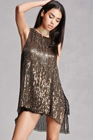 Forever 21 Sequined Beaded Top