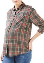 Topshop MATERNITY Tartan Checked Shirt