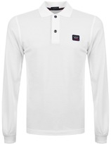 Paul & Shark Paul And Shark Long Sleeved Polo T Shirt White