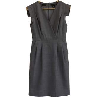 Banana Republic \N Grey Wool Dress for Women