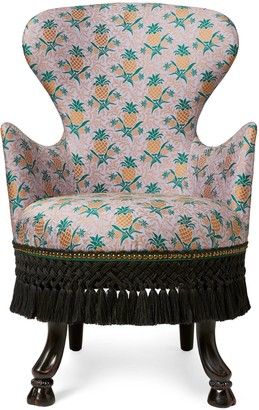 Gucci Pineapple jacquard armchair