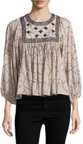 Antik Batik Women's Adji Cotton Blouse