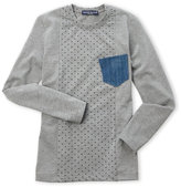 Manuell & Frank Boys 8-20) Polka Dot Long Sleeve Tee