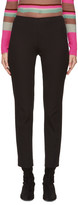 Jil Sander Navy Black Legging Trousers