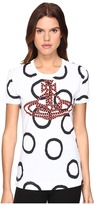 Vivienne Westwood Braided Orb Classic T-Shirt Women's T Shirt