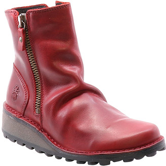 Fly London Women's Casual boots 003 - Red Mong Ankle Boot - Women