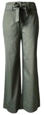 Tinseltown Juniors' Belted Wide-Leg Pants