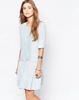 Deby Debo Odelia Pleat Front Tea Dress