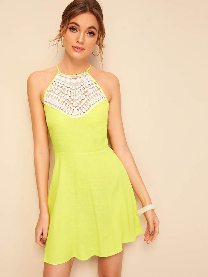 b7e9baa8c8 Shein Tie Back Dresses - ShopStyle