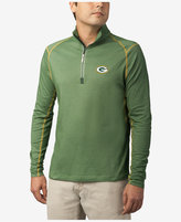 Tommy Bahama Men's Green Bay Packers Double Eagle Half-Zip Sweater