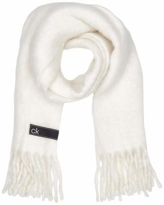 Calvin Klein Women's K60K606172 Scarf Hat & Glove Set