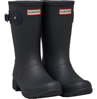 Hunter Womens Tour Short Wellington Boots Dark Slate/Navy