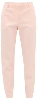 Altuzarra Henri Ankle-zip Wool-blend Trousers - Womens - Light Pink