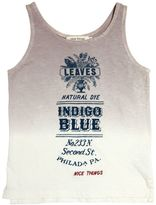 Nice Things Cotton & Linen Blend Tank Top